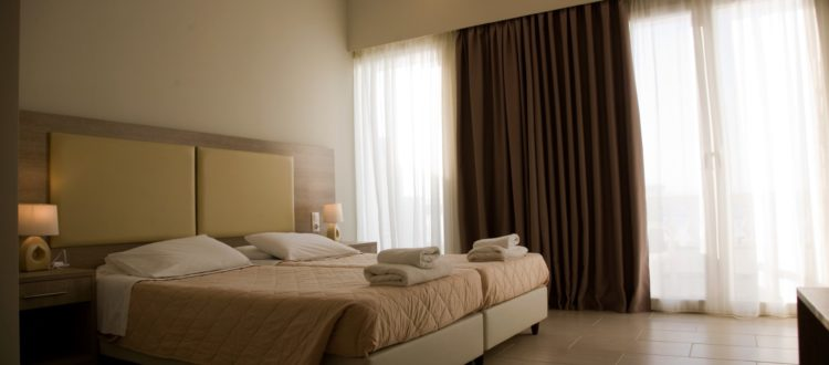 Corfu Golden Sunset Hotel in Boukari - Rooms